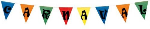 Bunting Assted Colour CARNAVAL